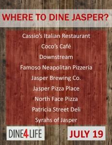 dine for life participating restaurants fb