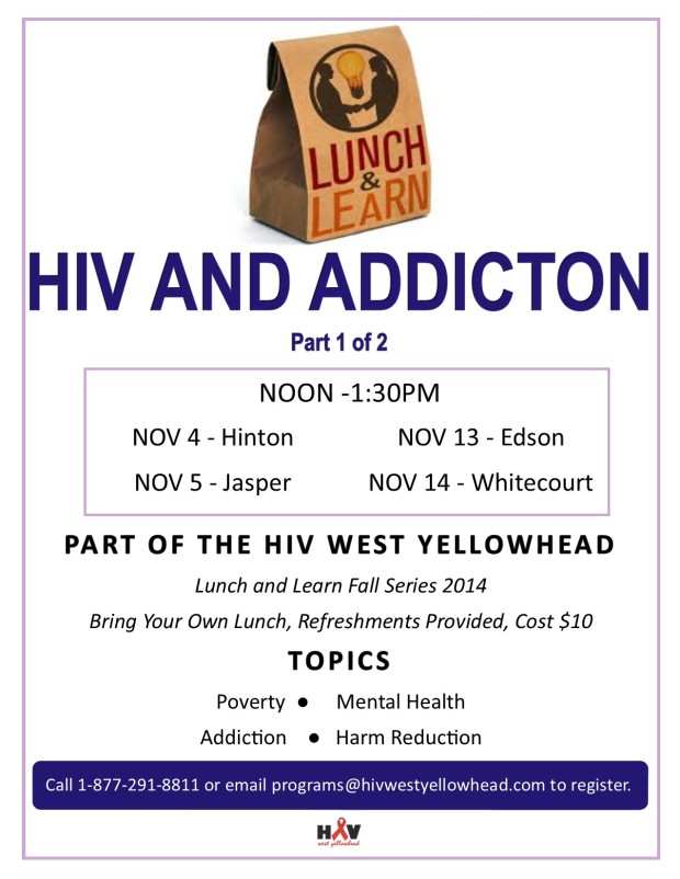 NOV Lunch & Learn-HIV & Addiction 1