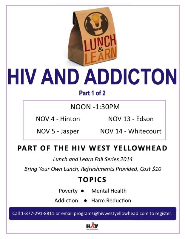 NOV Lunch & Learn-HIV & Addiction 1