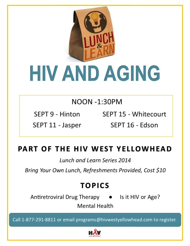 SEPT Lunch and Learn-HIV & Aging